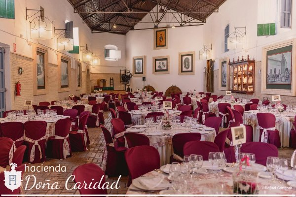 Hacienda Doña Caridad salón