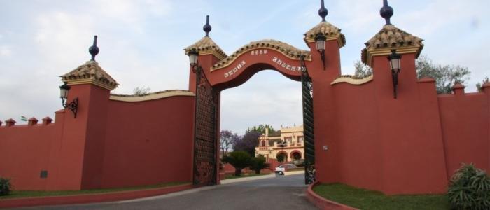 Entrada Hacienda Monte Carmelo