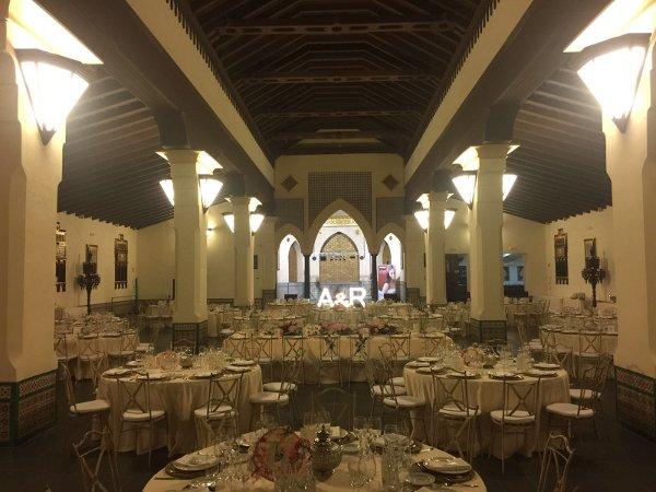Hacienda Monte Carmelo salón interior
