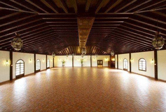 Salón interior Hacienda Veracruz Sevilla